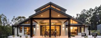 Остекление фасадов частных домов